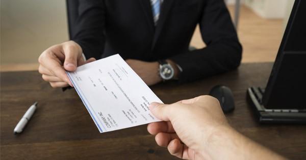 technology paper checks