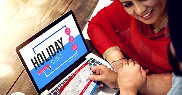 holiday travel booking