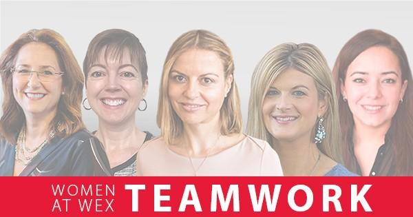 women at wex teamwork