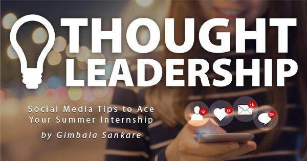 thought leadership internship