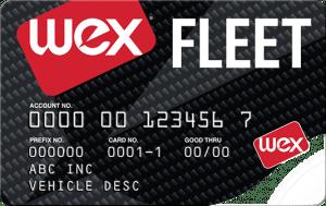 The WEX Fleet Card
