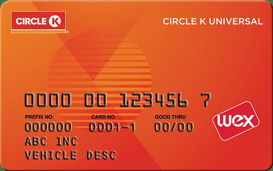 Circle K Universal Card   Fleet Cards & Fuel Management