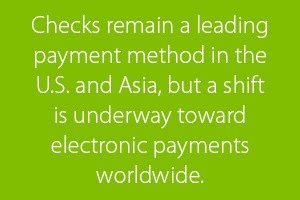 CFO Insights - trend is to shift toward electronic payments