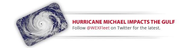 Hurricane Michael impacts the gulf