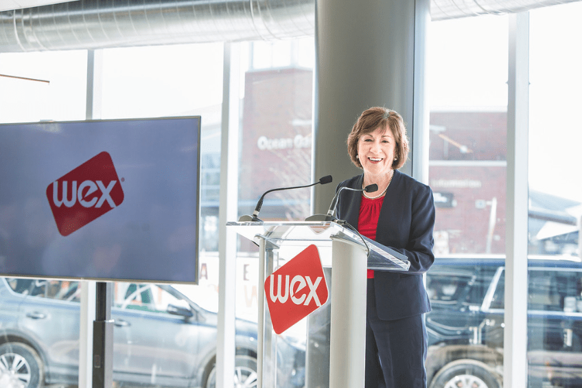 wex new global headquarters susan collins