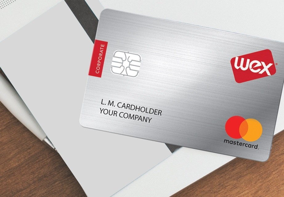 the WEX corporate card for making payments
