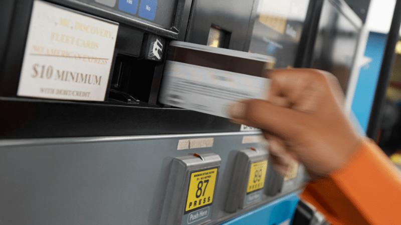 credit card skimming at the fuel pump