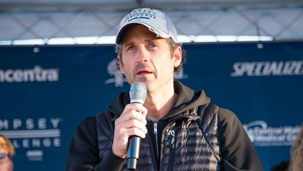 Patrick Dempsey at Dempsey Challenge