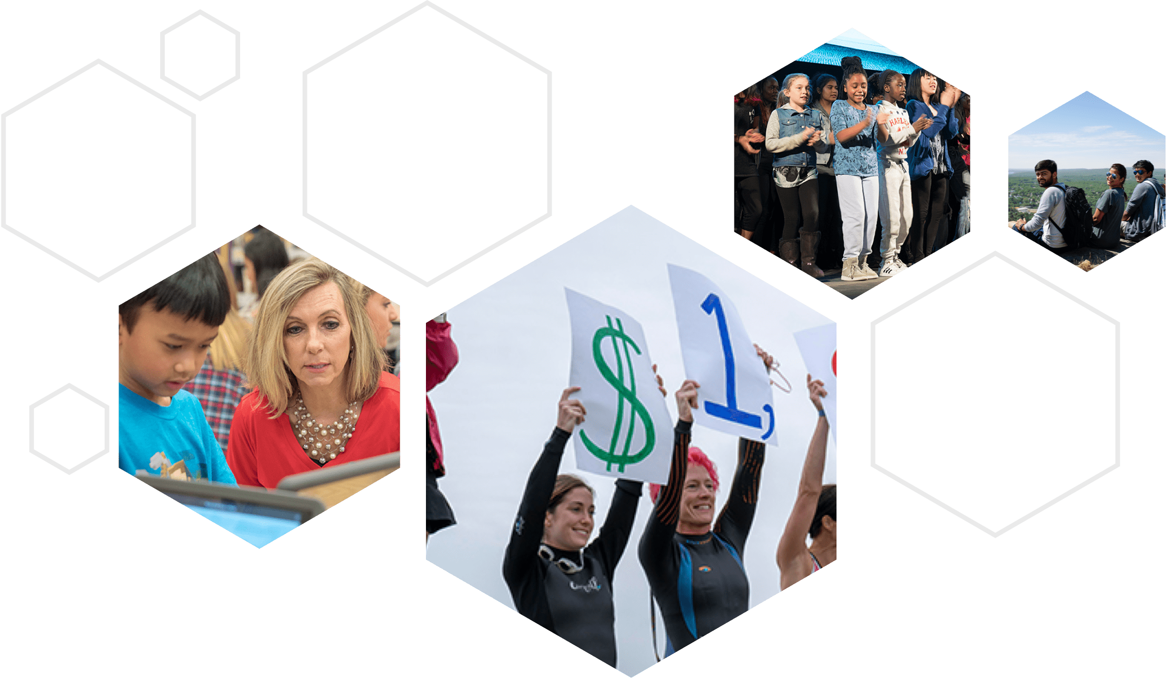 Health and Benefits Employee Collage