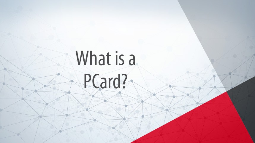 What is a PCard?
