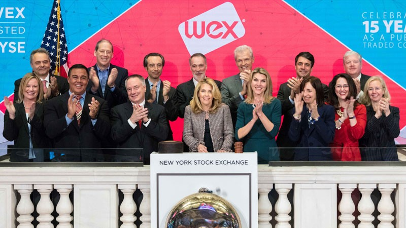 The New York Stock Exchange welcomes WEX (NYSE: WEX) in celebration of its 15th anniversary being publicly traded. Melissa D. Smith, Chair & CEO, joined by Tara Dziedzic, Head of Listings - U.S. Sectors, rings The Closing Bell®.