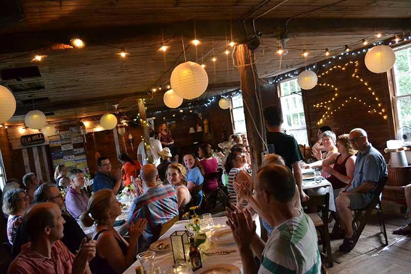 Rebecca Blaesing's BarnSwallow event in Cumberland, Maine