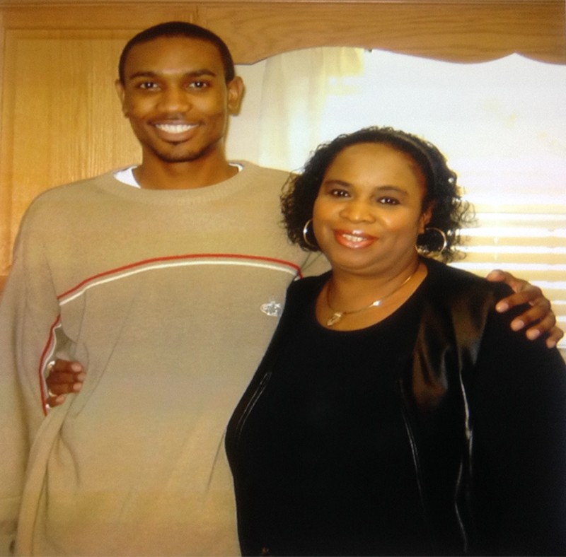 WEXer Jason Simpson with his Mother