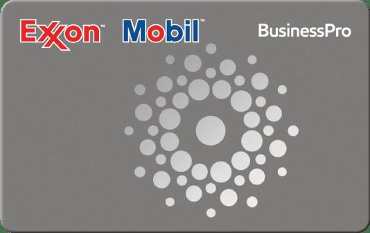 Exxon Mobil BusinessPro card