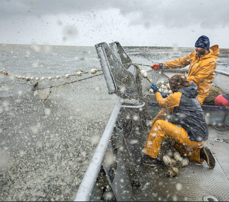 Facing Harsh Weather Conditions is Just Part of the Challenge of Commercial Fishing in Maine