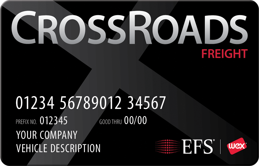 CrossRoads Freight Card
