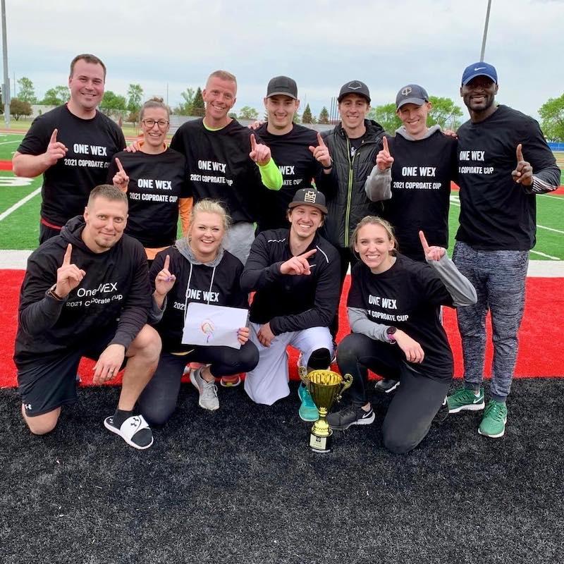 Team WEX wins the Fargo-Moorhead-West Fargo Chamber of Commerce corporate cup