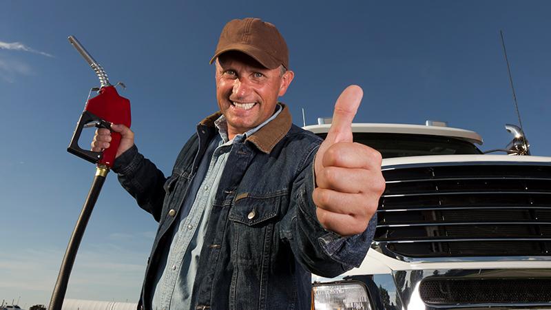 How do company gas cards work?