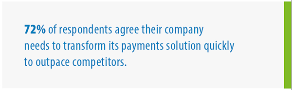 Transform payments quickly