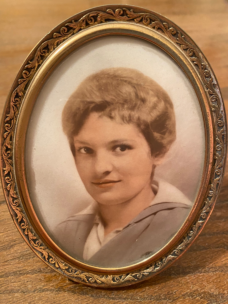 Gale's grandmother, Mary Manero, who immigrated to the US from Italy in 1915