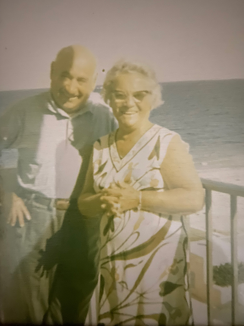 Gale's grandparents, xxx and Mary Manero